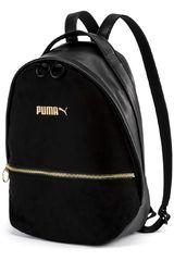 Mochila de Mujer Puma Negro / Dorado Prime Premium Archive Backpack