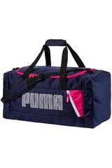 Puma Azul de Hombre modelo Fundamentals Sports Bag M II Deportivo Maletínes
