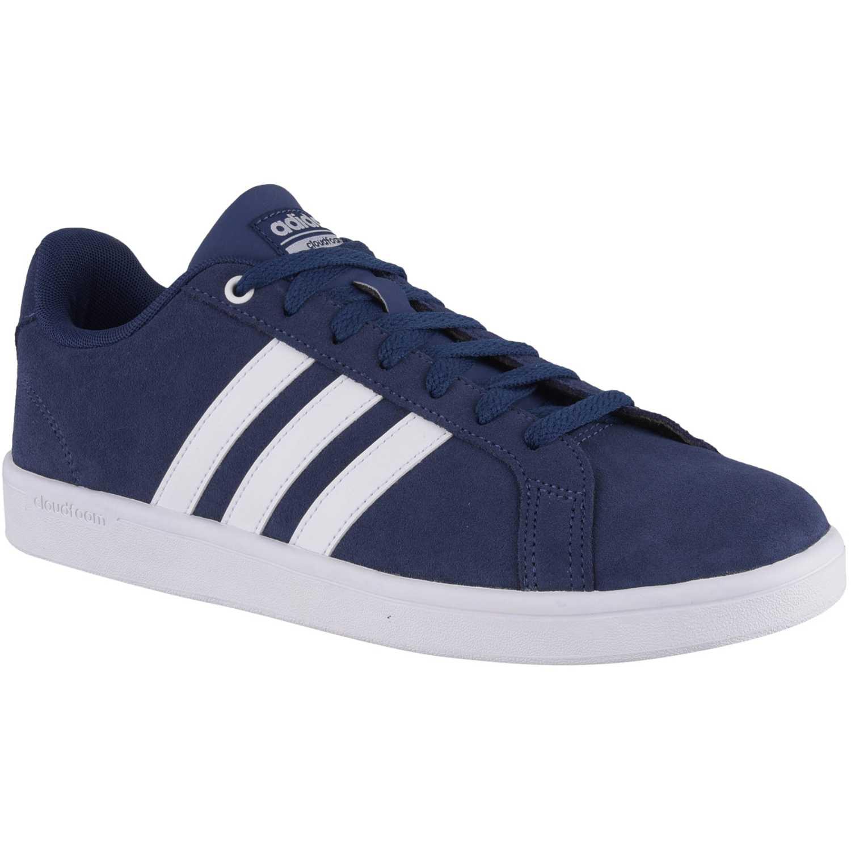 Zapatilla de Hombre Adidas Azul cf advantage  f5174c05330