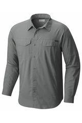 Columbia Gris de Hombre modelo SILVER RIDGE LIT Camisas Casual