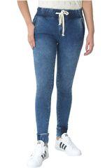 CUSTER Dark acid de Mujer modelo JOGGER W Casual Pantalones Jeans