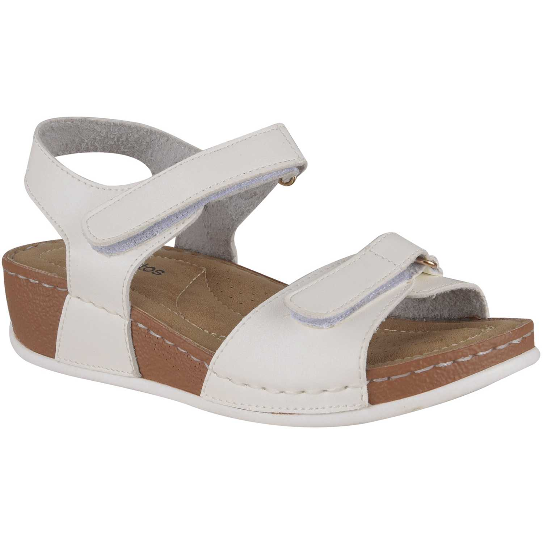 Sandalia de Mujer Platanitos Blanco sct 1293