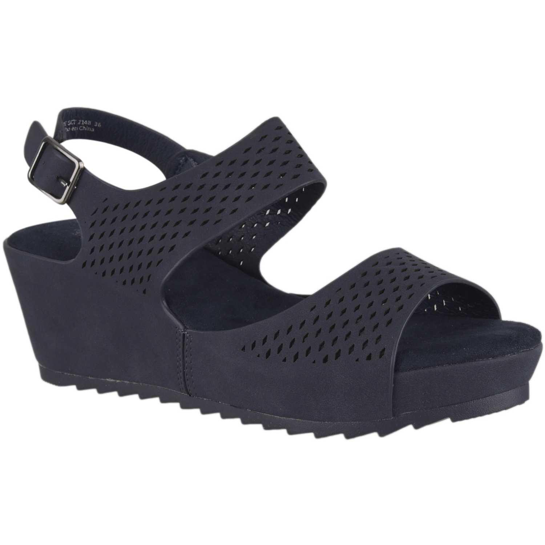 Sandalia de Mujer Platanitos Azul sct 2148