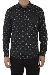 Strata Negro de Hombre modelo SHIRT THEORYMANGA LARGA Camisas Casual