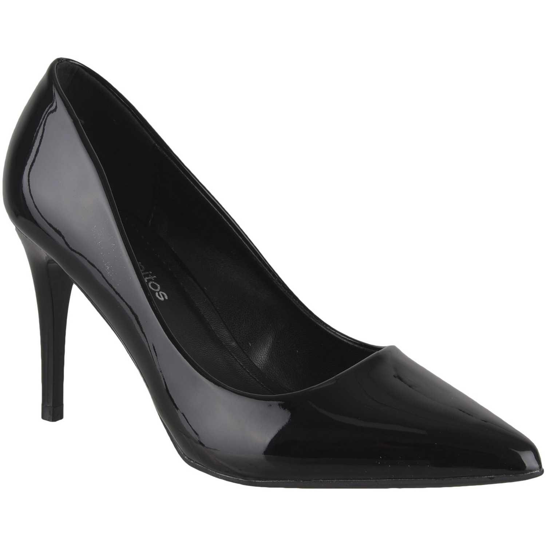 Calzado de Mujer Platanitos Negro cv 9011