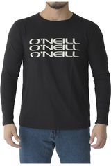 Polo de Hombre ONEILL Negro ROOT THERMAL