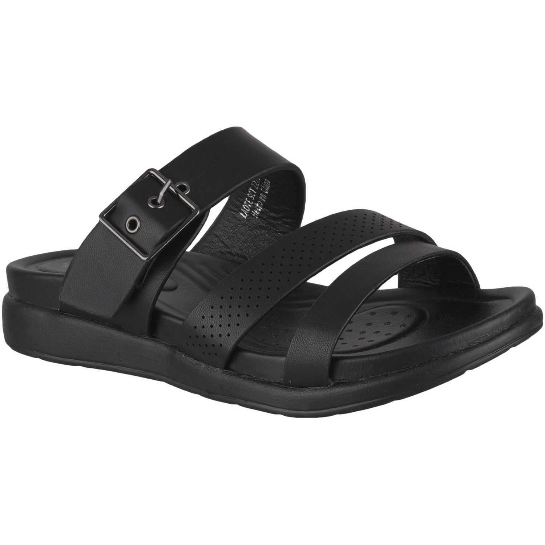 Sandalia de Mujer Platanitos Negro sct 2227