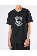 Under Armour Negro de Hombre modelo Basketball Icon SS Polos Deportivo