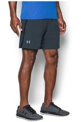 Under Armour Gris de Hombre modelo UA LAUNCH SW 2-IN-1 SHORT Shorts Deportivo