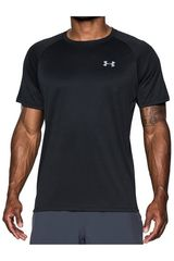 Polo de Hombre Under Armour Negro SPEED STRIDE SHORT SLEEVE