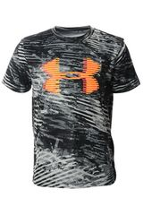 Under Armour Gris de Jovencito modelo Tech Big Logo Printed Tee Deportivo Polos