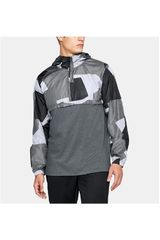 Polera de Hombre Under Armour Gris Wind Anorak