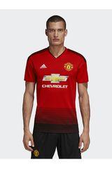 adidas Rojo de Hombre modelo MUFC H JSY Deportivo Polos