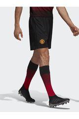adidas Negro de Hombre modelo MUFC H SHO Deportivo Shorts