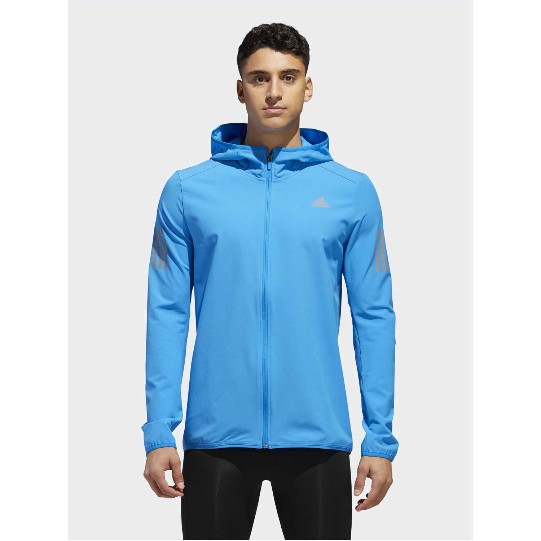Casaca de Hombre Adidas Celeste response jacket