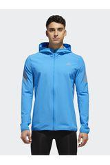 Adidas Celeste de Hombre modelo RESPONSE JACKET Deportivo Casacas