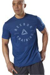 Reebok Azul de Hombre modelo GS Training Speedwick Tee Polos Deportivo