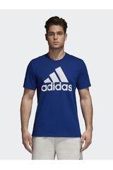 adidas Azul de Hombre modelo ESS LINEAR TEE Deportivo Polos