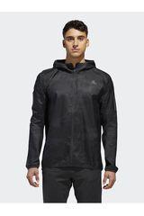 Adidas Negro de Hombre modelo RESPONSE JACKET Deportivo Casacas