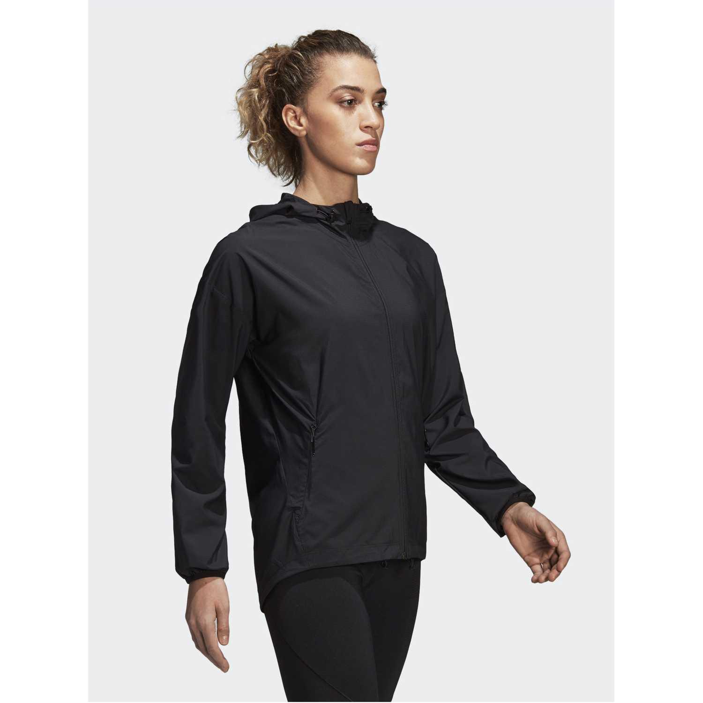 Casaca de Mujer Adidas Negro woven cover up