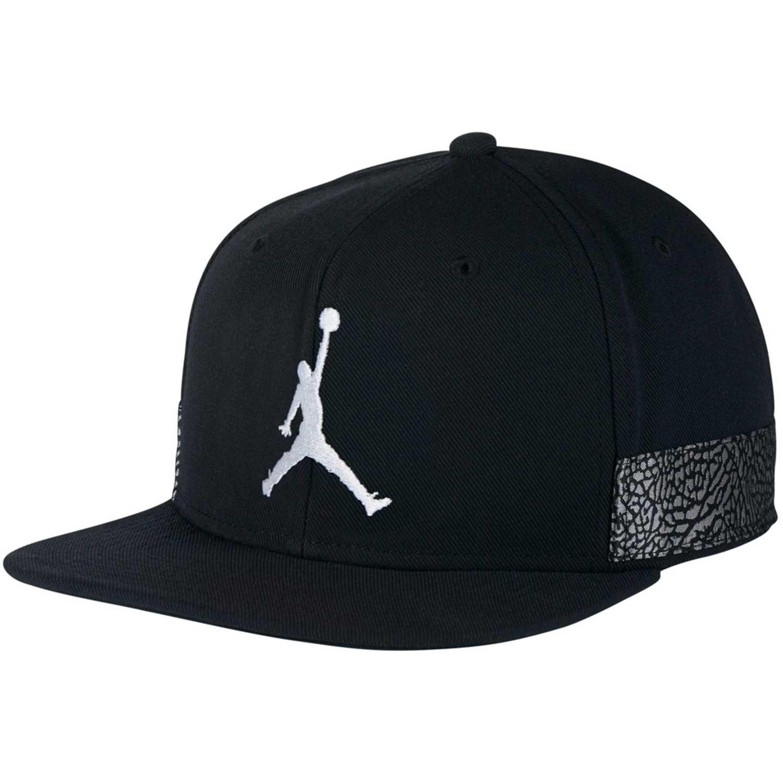 Gorro de Hombre Nike Negro jordan jumpman pro aj3 cap  59a53c17d7f