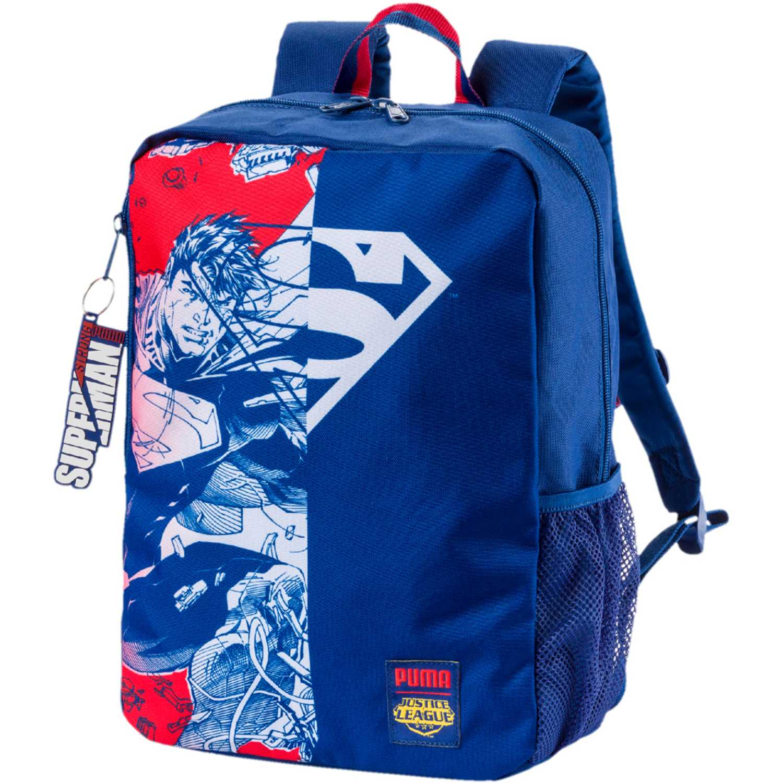 Mochila de Niño Puma Azul / rojo justice league hero backpack