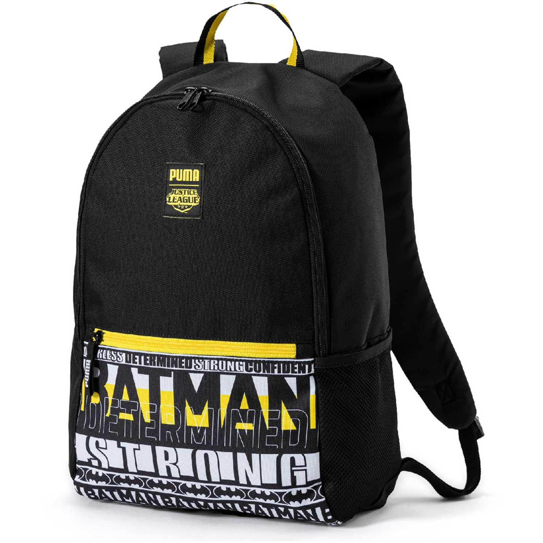 Mochila de Niño Puma Negro / amarillo justice league large backpac