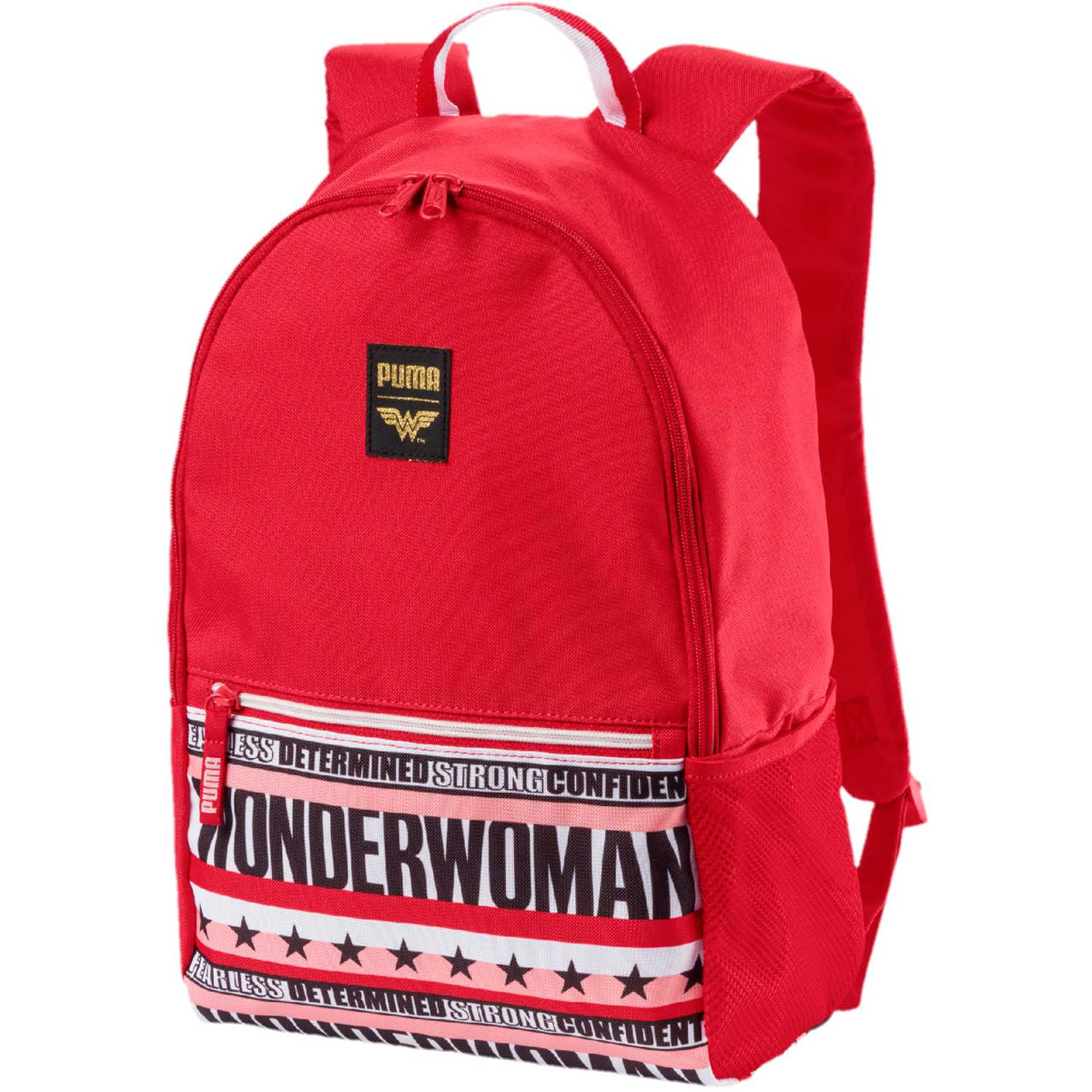 Mochila de Niña Puma Rojo / blanco justice league large backpac