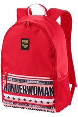 Mochila de Niña Puma Justice League Large Backpac Rojo / blanco