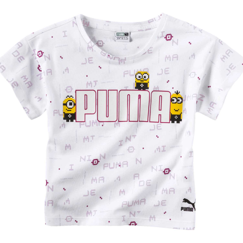 4db61ad517 Puma Niños Minions té Camiseta Regalos únicos de Navidad