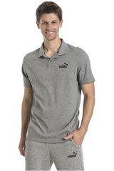 Puma Gris de Hombre modelo ESS Jersey Polo Casual Polos