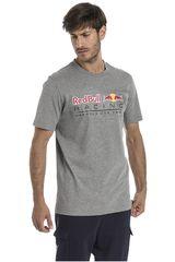 Puma Gris de Hombre modelo RBR Logo Tee Deportivo Polos