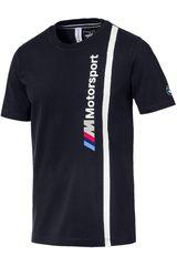 Puma Navy de Hombre modelo BMW MMS Logo Tee Polos Casual