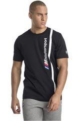 Puma Negro / Blanco de Hombre modelo BMW MMS Logo Tee Polos Casual