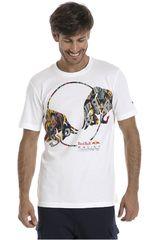 Puma Blanco de Hombre modelo RBR Double Bull Tee Deportivo Polos