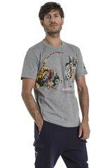 Puma Gris de Hombre modelo RBR Double Bull Tee Deportivo Polos