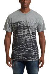Puma Gris / negro de Hombre modelo RBR Life Graphic Tee 2 Deportivo Polos