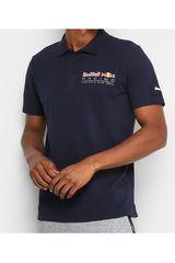 Polo de Hombre Puma Azul RBR Logo Polo