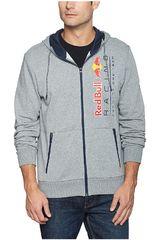 Puma Gris de Hombre modelo RBR Hooded Sweat Jacket Deportivo Casacas