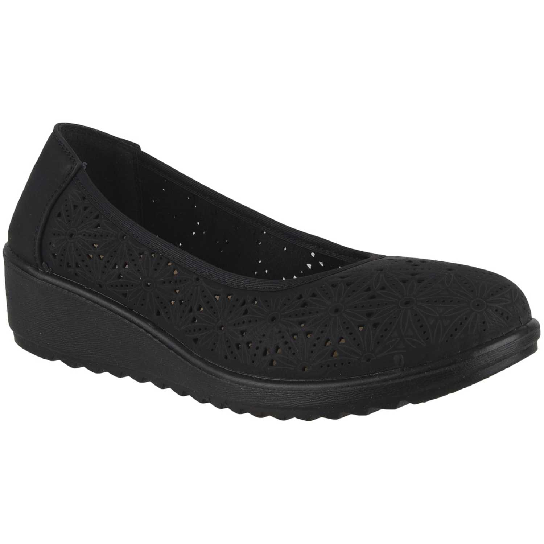 Calzado de Mujer Platanitos Negro cw 238