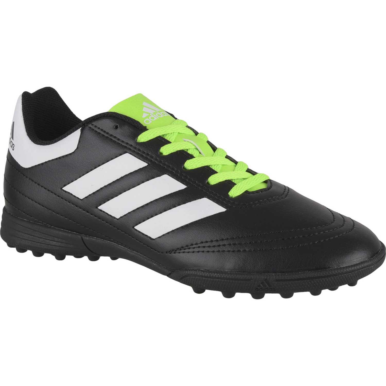 sports shoes 62e91 f28e2 Zapatilla de Jovencito Adidas Negro  verde goletto vi tf j