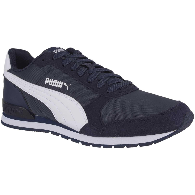 Zapatilla de Hombre Puma Azul   blanco st runner v2 nl  44c5114473612