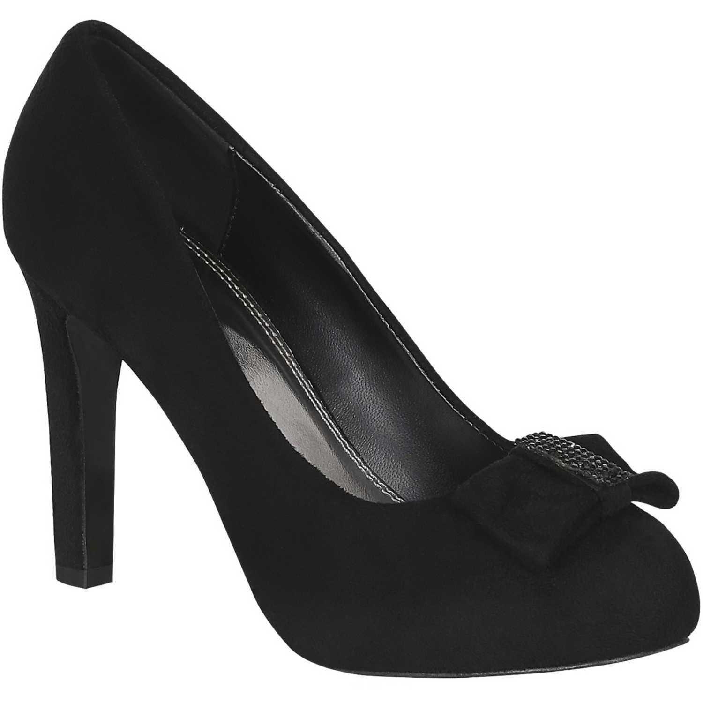 Calzado de Mujer Platanitos Negro cp 4714