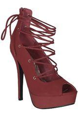 Calzado de Mujer Platanitos CP LYDIA2 Rojo