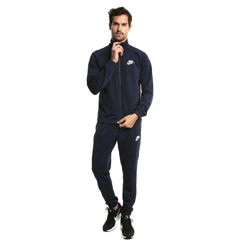 Buzo de Hombre Nike Azul m nsw trk suit pk basic