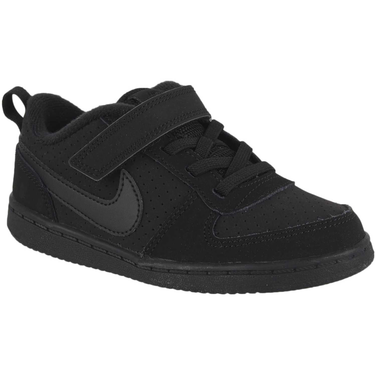 Zapatilla de Niño Nike Negro nike court borough low btv