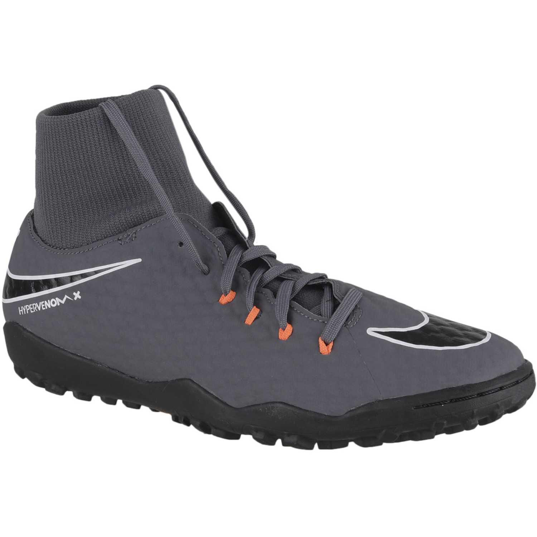 82b5e045a Zapatilla de Hombre Nike Plomo phantomx 3 academy df tf