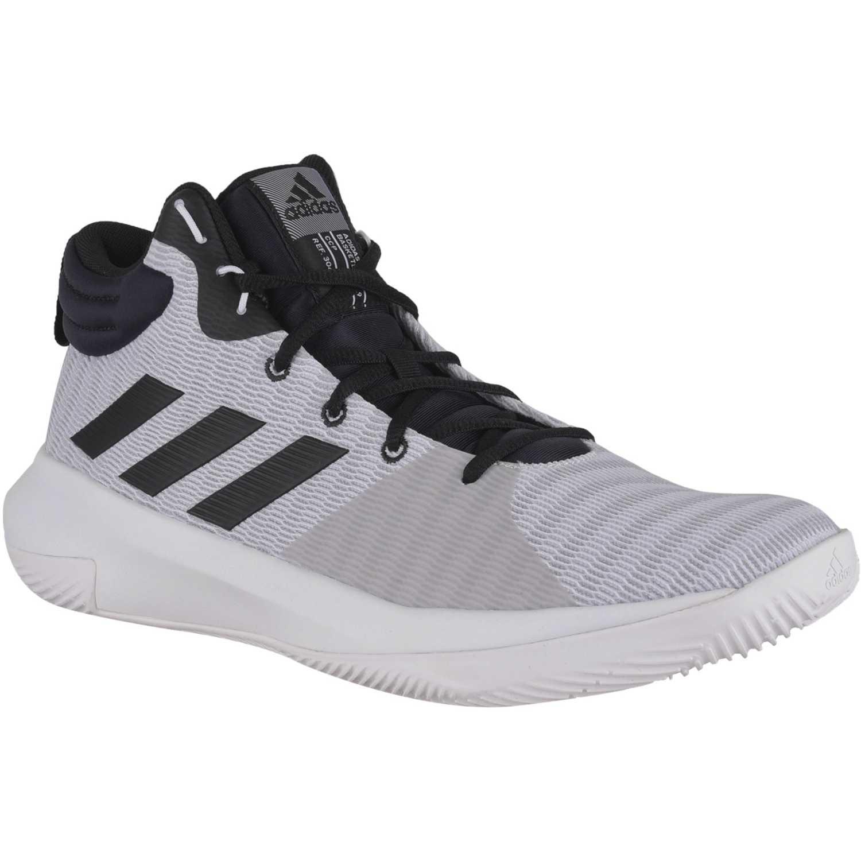 buy online ce28e 4429e Zapatilla de Hombre Adidas Blanco   negro pro elevate 2018
