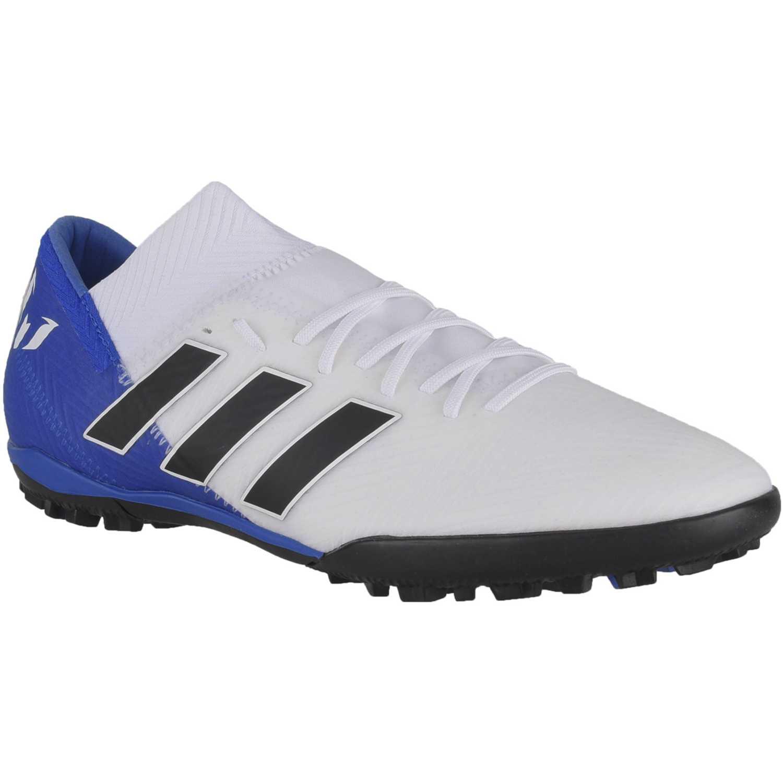 9e68650ad5850 Zapatilla de Hombre Adidas Blanco   azul nemeziz messi tango 18.3 tf ...