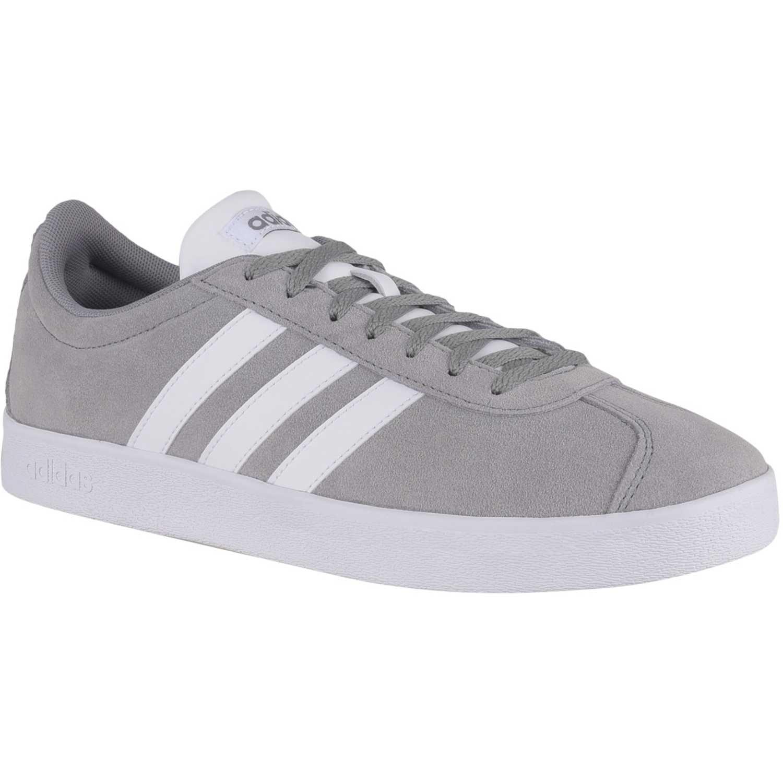 Zapatilla de Hombre Adidas Gris vl court 2.0
